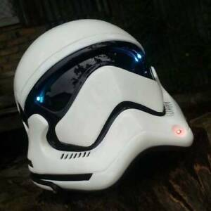 Star Wars Stormtrooper Classic Helmet For Motorcycle ( approved DOT/ECE )
