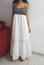 Esprit Sommer Maxi Kleid weiß M bodenlang top