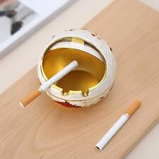 Vintage Windproof Ashtray, Suitable for Office, Living Room, Hotel Decoration -