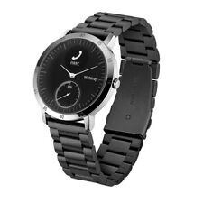 Nokia Withings Steel HR 40MM Wristwatch Band Stainless Black New