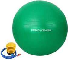 Exercise posture Ball Gym Yoga Workout by Cosco Antiburst 75 CM + footpump back