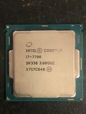 Intel Core i7-7700 3.6 GHz Processor SR338