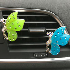 New Car Rhinestone Air Freshener Outlet Butterfly Outlet Perfume Diffuser Decor