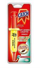 CATCH Gel Anti-cafards 1 Seringue 10 g - Produit Anti Cafards de Maison Puissant