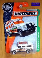 Matchbox '97 Land Rover Defender 110 [White] - New/Sealed/VHTF