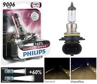 Philips VIsion Plus 60% 9006 HB4 55W One Bulb Head Light Replace Low Beam Lamp