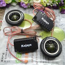 2x 120W In Car AUDIO System Tweeters High Power Car Auto Speaker