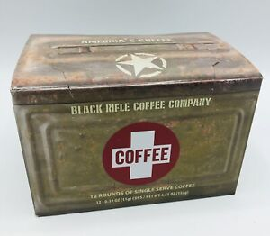 Black Rifle Coffee Company Medium Roast Coffee Saves Rounds 12 Count K Cup