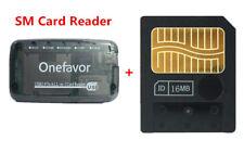 16MB SM Memory Card Smart media card  +  SM Memory Card Reader