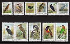 More details for zambia  1987 birds unmounted mint set