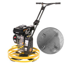 22 Walk Behind Cement Power Trowel Concrete Epa 65hp 196cc Engine With Float Pan