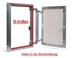 Revisionsklappe Revisionstür Revision  Wartungstür 35 Größen,Für Küche, Bad, WC.