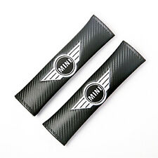 Fibra Di Carbonio Effetto Cintura Spalline per. MINI COOPER WORKS ONE CLUBMAN