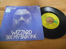 "7"" Rock Wizzard - See My Baby Jive / Bend Over Beethoven (2 Song) EMI HARVEST"