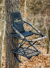 Hunting Deluxe Aluminum Climber Tree Stand Ironhide Harness Sling Seat