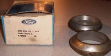 NOS Pair of OBSOLETE OE Ford Steel Exhaust Donut Gasket -Torino Marquis Meteor