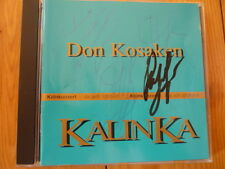 Don cosacchi Kalinka (CD con autografo) RAR!