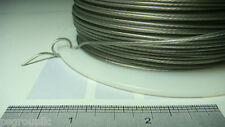 Duracoat Silver Stainless Steel #6 Plastic Coated 275 Ft Spool 60 Lbs + Samples