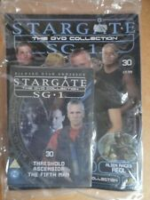 DVD COLLECTION STARGATE SG 1 PART 30 + MAGAZINE - NEW SEALED IN ORIGINAL WRAPPER