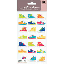 Sticko Stickers-Funky Kicks