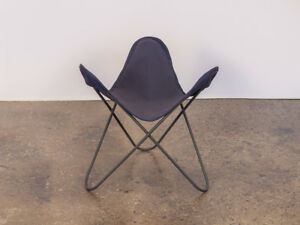 Vintage BKF Hardoy Butterfly Chair Footstool for Knoll
