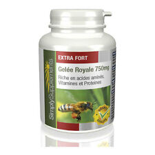 Gelée Royale 750mg - Riche en vitamines, minéraux & acides aminés-180 Comprimés