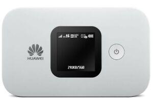 NEW Huawei E5577-320 4G LTE Mobile Broadband Wi-Fi Router Mi-Fi Hotspot, white