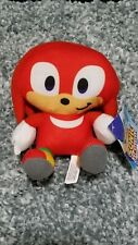 """NEW Sonic The Hedgehog Licensed Plush - Knuckles Red Stuffed Toy Factory - 6"""""""