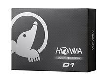 Honma D1 Dynamic Distance Golf Balls 1 Dozen White