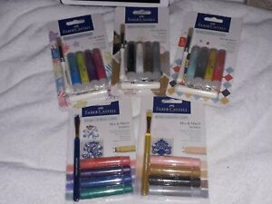 Bundle 5 Assorted Faber Castell Gelatos Sets *NEW* 20 Colours Mixed Media