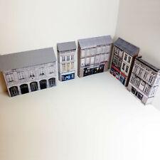 More details for 1/148 card n gauge pack of 5 town buildings (set 011)