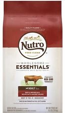 NUTRO Wholesome Essentials Natural Adult Dry Dog Food Beef & Brown Rice 4.5lbs