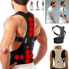 Unisexe Réglable Correcteur de Posture Dos Support Épaule Dos Bretelles Ceinture