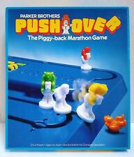 PUSH OVER GAME The Piggy-Back Marathon Board Game - 100% complete