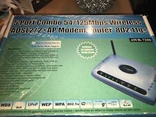 Texas Instruments Wireless ADSL2/2 54/125mbps AP Modem Router 802.11g