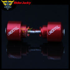 Red Motorcycle Handlebar Grip Bar End Caps For Honda CBR1000F CBR600SE CBR954RR