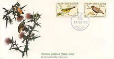 ENVELOPPE / BIRDS OF THE WORLD /  / FAUNE /  OISEAU / CAICOS ISLANDS / 1985