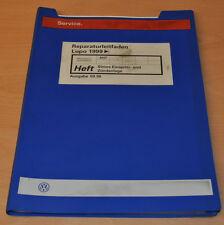 VW Lupo 1999 Simos Einspritz und Zündanlage AHT Werkstatthandbuch Leitfaden