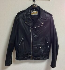 Schott Perfecto 613 One Star size 38  Mortorcycle Steerhide Leather Jacket