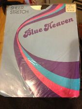 Exciting! Vintage Blue Heaven nude pantyhose