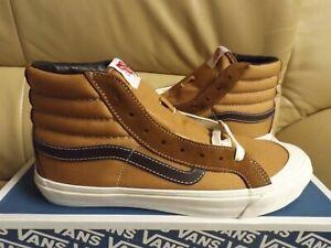 Vans Og Style 138 LX Men's Size 13 Suede/Canvas Shoes Brown VN0A45KDVZF