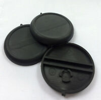 30mm round black plastic bases with lip - Malifaux Warhammer Infinity BRAND NEW