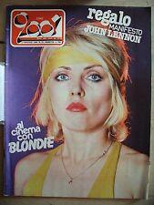 CIAO 2001 1980  N° 19  Blondie