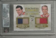 12/13 Ultimate Maurice & Henri Richard Enshrined Superbox 1/1 Dual Memorabilia