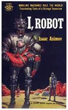 I, ROBOT Movie POSTER 11x17 Retro Book Cover