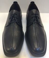 Cole Haan Men 11 M Cain Center Seam Ox II Oxfords Black Leather Shoes C12541