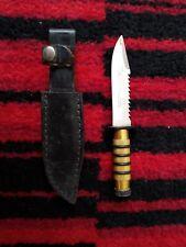 Mini replica coltello Rambo con custodia