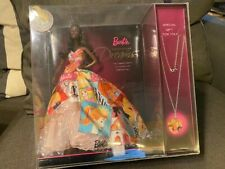 New Aa Generations Of Dreams Barbie African American 50th Anniversary Necklace