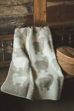Blanket Throw Bed Sofa Fleece Cozy Plaid Soft Warm Wool 130x200 cm Sheep Beige