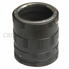 Macro Extension Tube 3 Ring Set for Sony Alpha A AF Minolta MA mount DSLR New